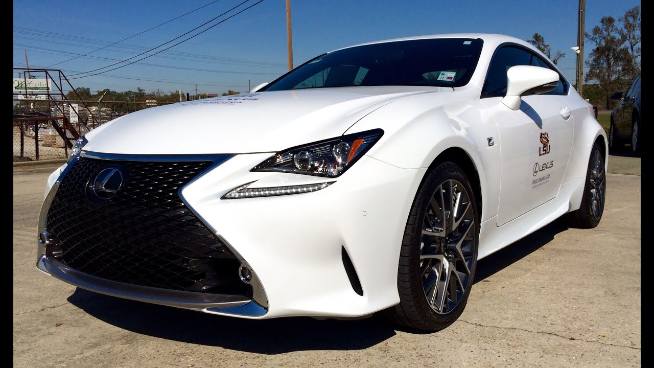 2015 lexus rc 350 f sport full review test drive ex. Black Bedroom Furniture Sets. Home Design Ideas
