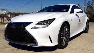 2015 Lexus RC 350 F Sport Full Review / Test Drive / Exhaust / Start Up