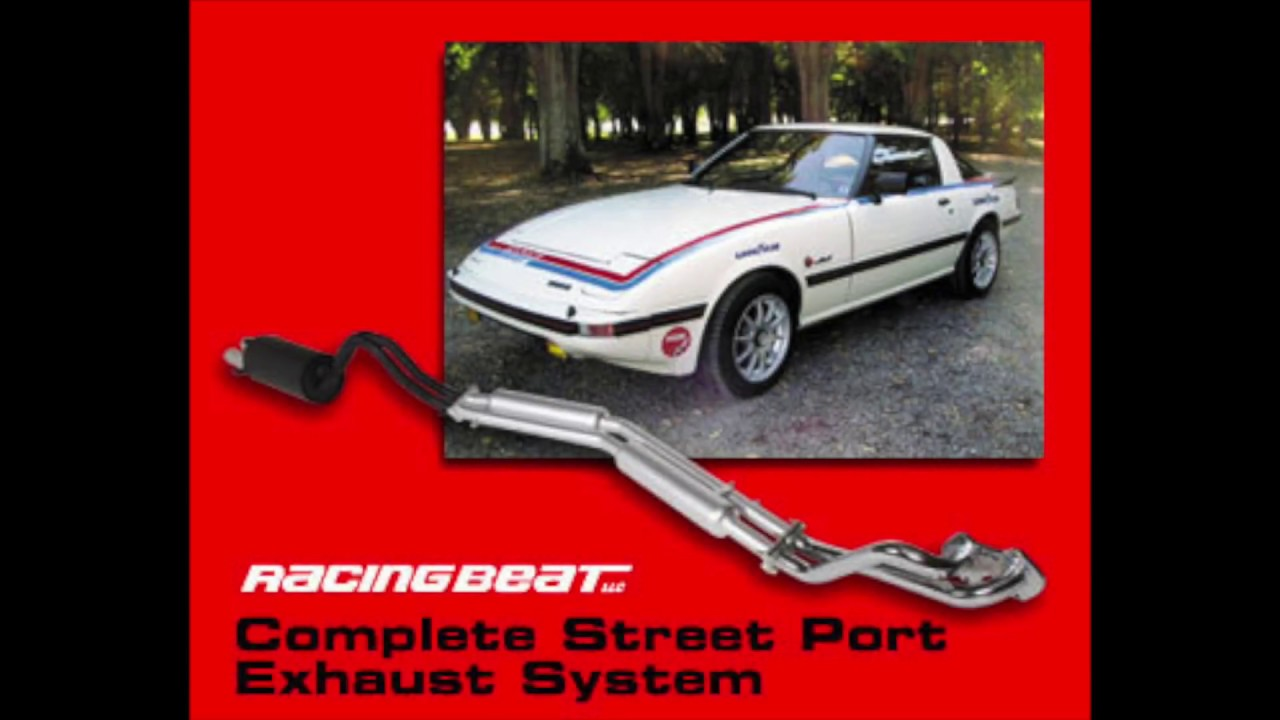 1985 Mazda RX7 12a Racing Beat Exhaust