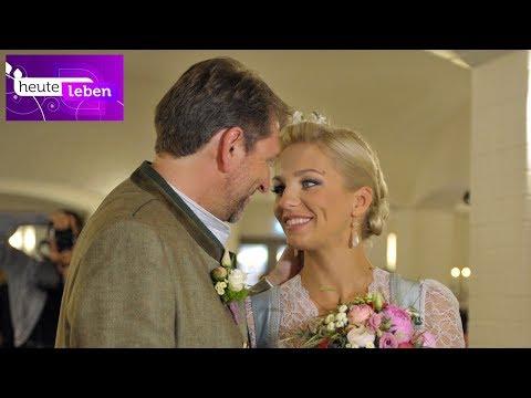 ORF heute leben Hochzeit von Lidia Baich & Andreas Schager in Schloss Thalheim