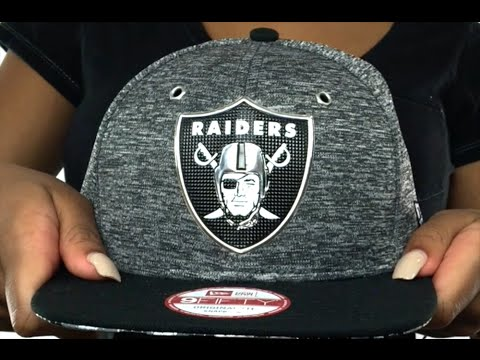 Raiders  2016 NFL DRAFT SNAPBACK  Hat by New Era - YouTube c86d0dae9d17