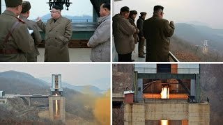 North Korea's Kim Jong-un hails engine test as 'new birth' of rocket industry
