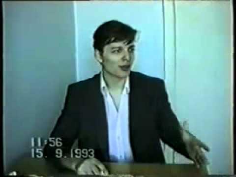 Видеозапись допроса депутата