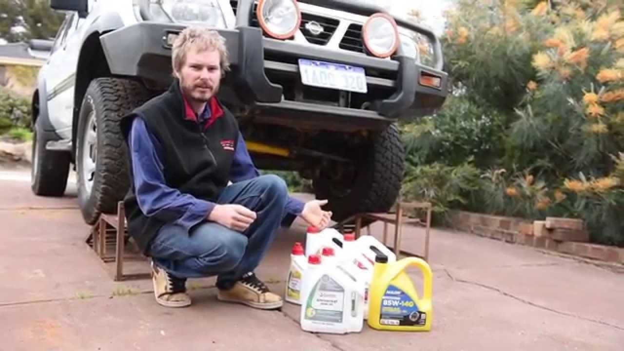 Backyard Mechanic 03: Servicing Patrol: Diffs, Gearbox ...