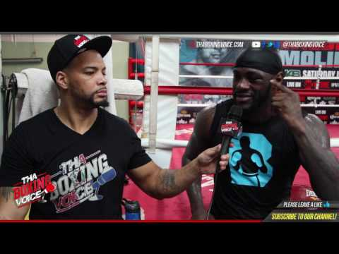 Deontay Wilder: Joshua vs Klitschko Joshua in Lose-Lose Situation, He's No Thug He's The Nice Guy