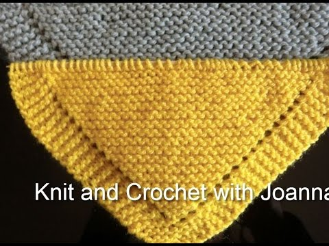 KNITTING PATTERN FOR A SHAWL...PERFECT ALSO FOR BEGINNERS - YouTube