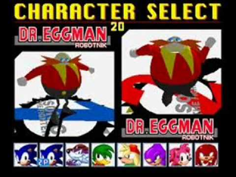 Sonic The Fighters music: Character select