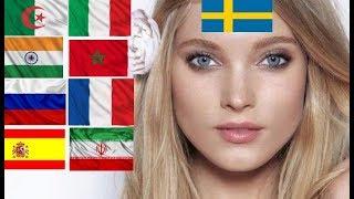 Countries With The Most Beautiful Women| Pays Avec Les Plus Belles Femmes Du Monde 2019