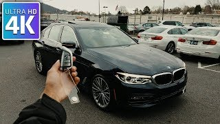 2017 BMW 5 SERIES - IN DEPTH WALKAROUND STARTUP EXTERIOR INTERIOR & TECH