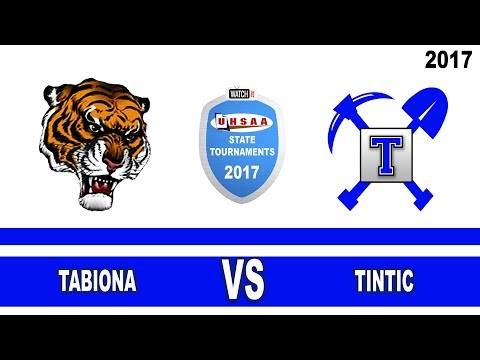 1A Volleyball: Tabiona vs Tintic High School UHSAA 2017 State Tournament Round 1