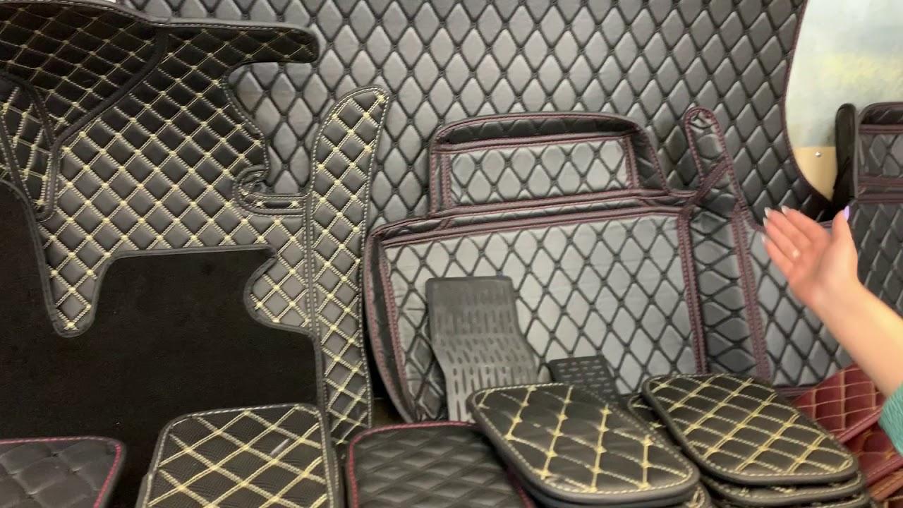3D коврики из экокожи - YouTube