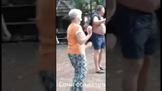 "Шаляпин и Копенкина ""зажгли"" на водопадах в Сочи"