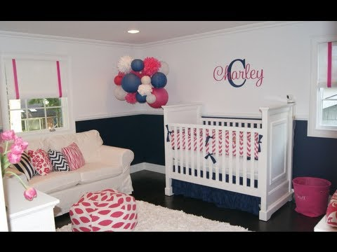 Navy Blue In The Nursery