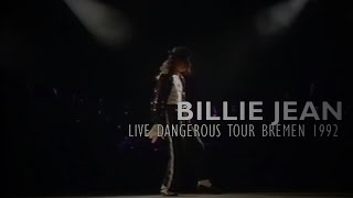 "Michael Jackson - ""Billie Jean"" live Dangerous World Tour Bremen 1992 - Enhanced - HD"