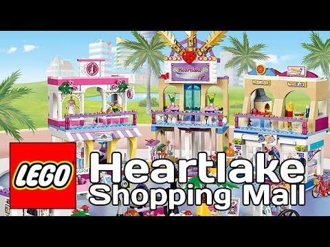 Lego Friends Торговый Центр Хартлейк Сити - Heartlake Shopping Mall (Обзор на русском)