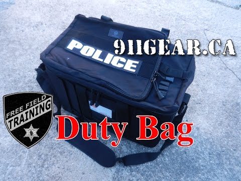 Duty Bag/Vehicle Organizer: 911gear Unboxing