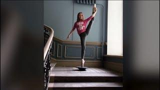 Баланс и грация: юная танцовщица завоёвывает популярность в Instagram