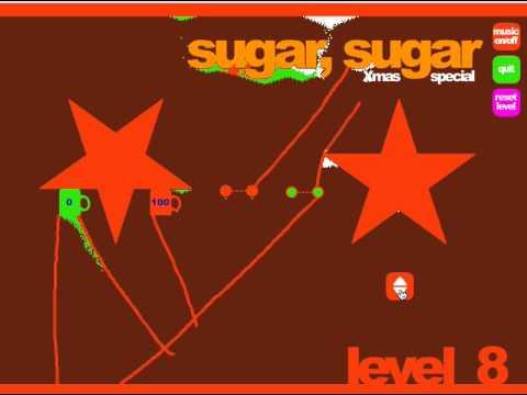 Sugar Sugar Christmas.How To Easily Beat Sugar Sugar Xmas Special Level 8