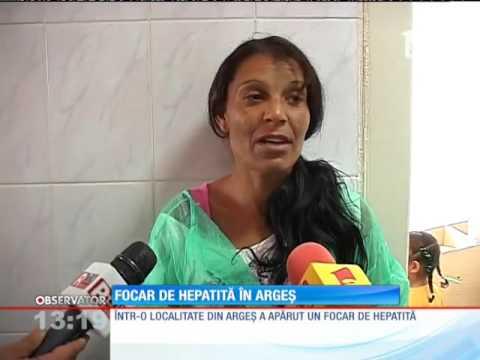 Un focar de hepatită a apărut într-o localitate din Argeş
