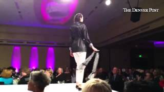 Spring styles from the Carlisle Collection on the runway at Brass Ring Fashion show, benefiting Barb