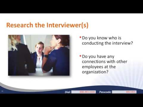Ace Your Next Job Interview