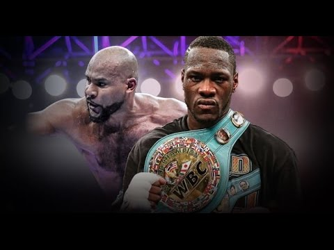 Deontay Wilder vs Gerald Washington Show (Announcement)