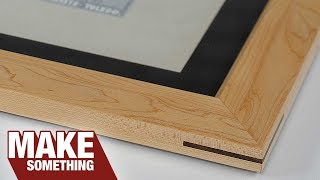 Picture Frame Making, Everything You Need to Know. Includes Matting & Mounting Video