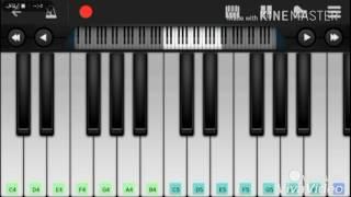تعلم عزف مقدمة كرتون بابار فيل |على بيانو الجوال|