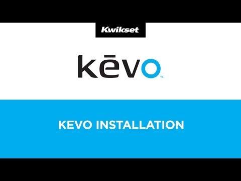 Kevo Smart Lock, 1st Gen Installation Tutorial -- Kwikset Kevo Bluetooth SmartKey Deadbolt