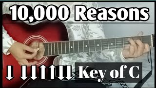 10000 Reasons  Easy Guitar Tutorial for beginners  Lyrics and chords  Riza Flores