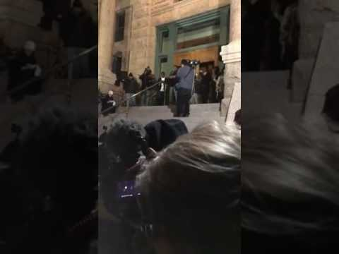 Downtown Fort Worth Protest at the Old Court House