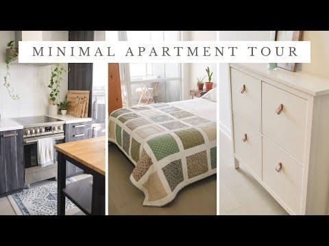 APARTMENT TOUR   minimal & cozy [650 sq. ft.]