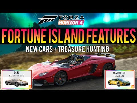 Forza Horizon 4 - NEW UPDATE FEATURES! - New Cars + Treasure Hunting & More! thumbnail