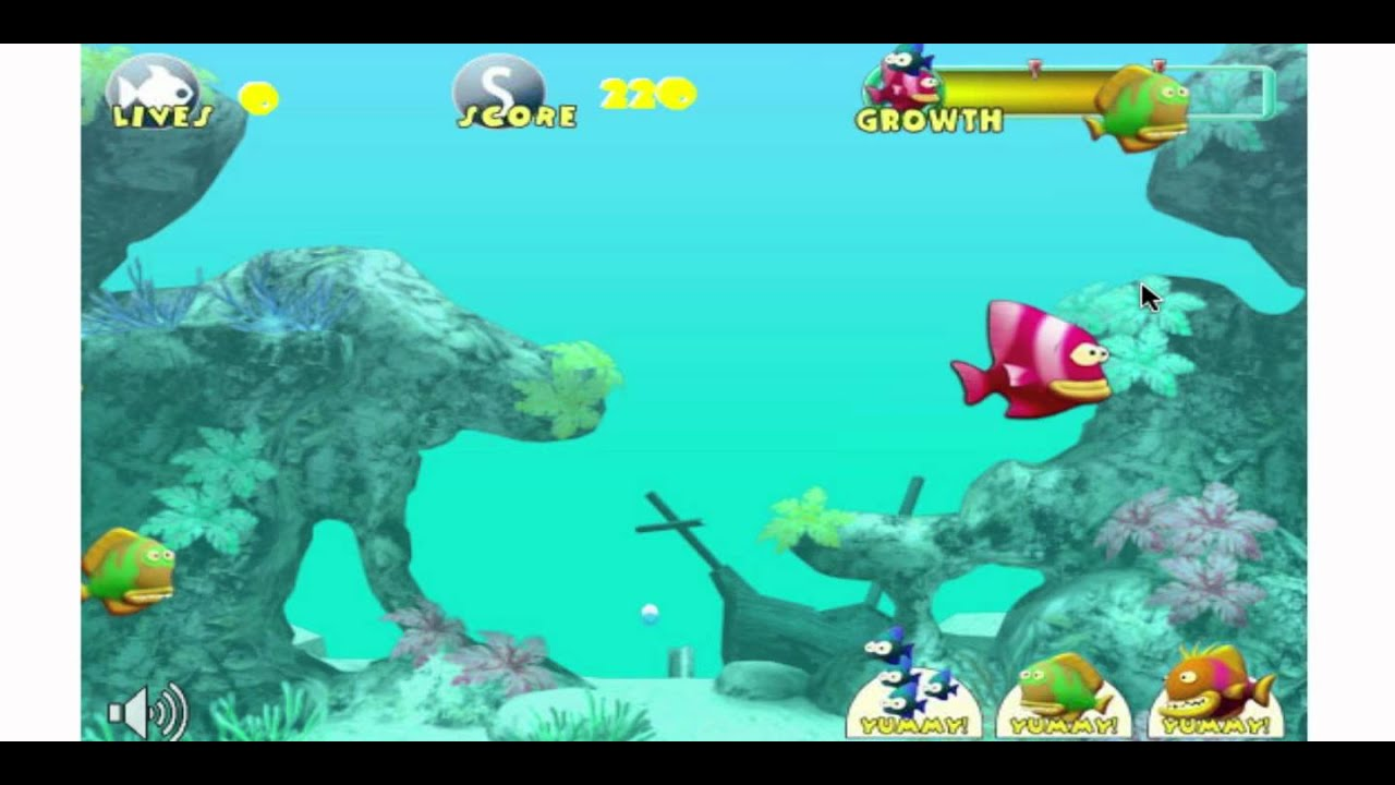 Free online fish games fish tales games youtube for The fish game