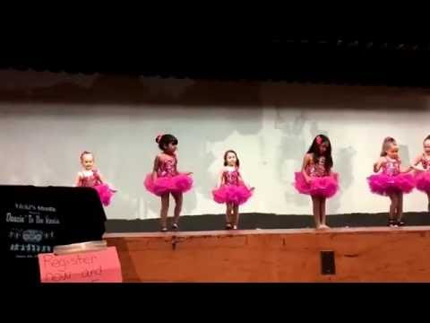 Ballet rehearsal- lollipop song