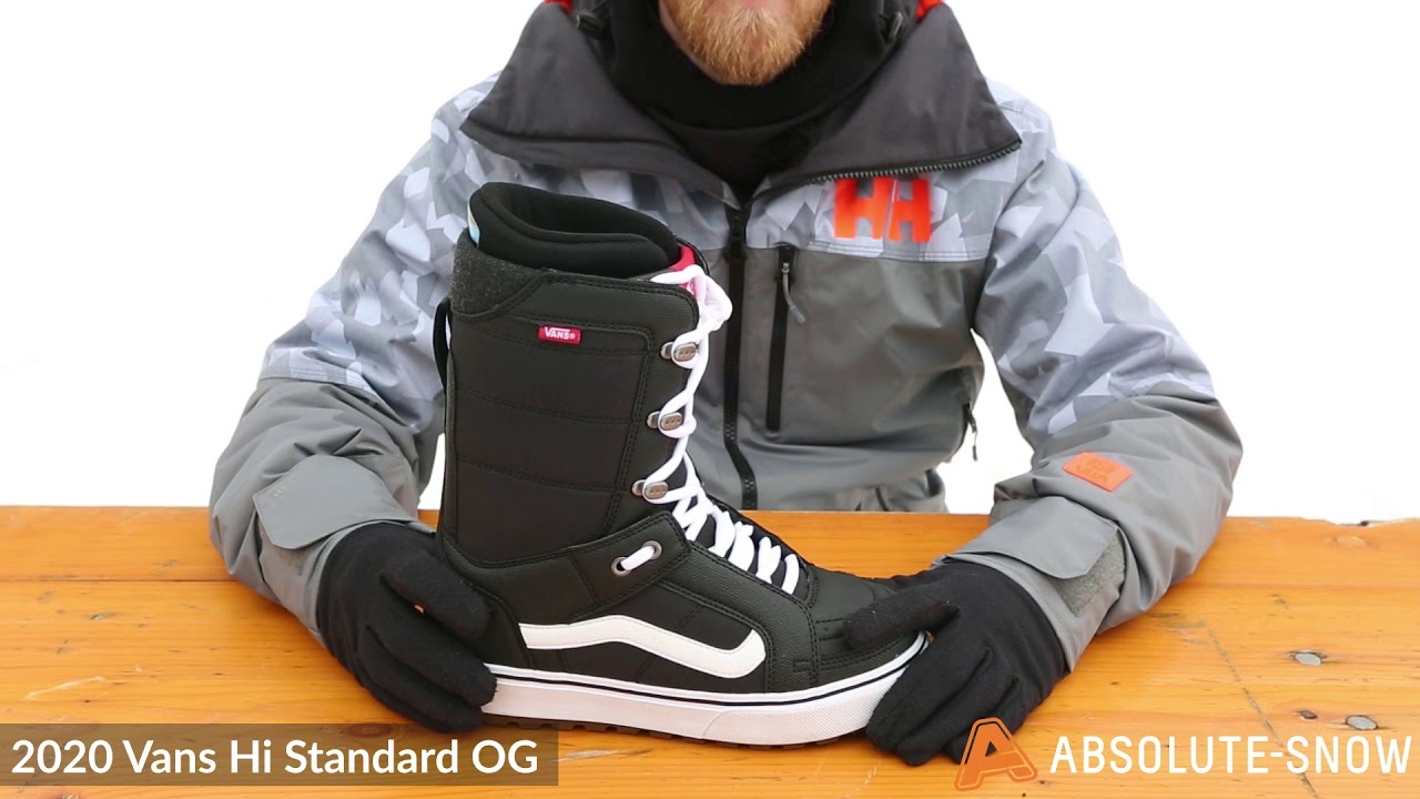vans snowboard scarponi