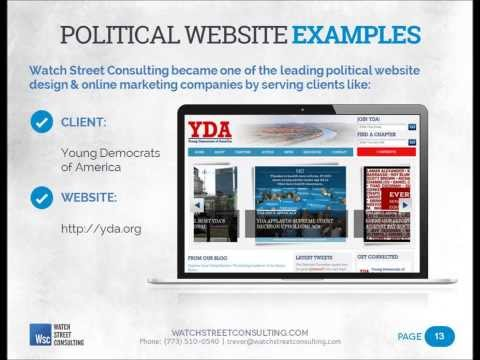 Political Website Design - Why Does Your Campaign Need a Better Website?