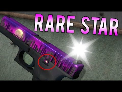 New ULTRA RARE Star Pattern? (CS:GO Glock Moonrise)