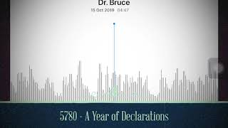Gambar cover 5780 - A Year of Declarations (Dr. Bruce Allen)