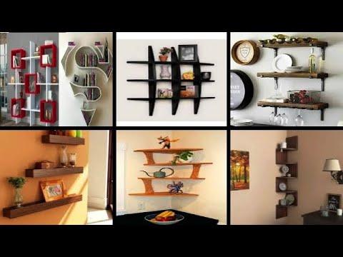 ديكورات رفوف لإستغلال زوايا البيت فريدة ومميزة للمسة عصرية بمنزلك Best Wall Shelves Corner Ideas Youtube