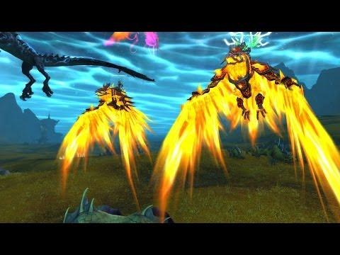 Pureblood Firehawk Mount Guide - Firelands Solo Guide!