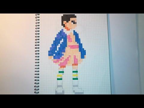 Pixel Art Eleven Stranger Things Youtube