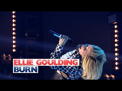 Ellie Goulding - 'Burn' (Live At Jingle Bell Ball 2015)