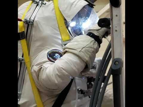 EVA Suit Training At CSA