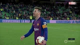 Messi Doing Ridiculous Things On Matchday #28 • 2018/19
