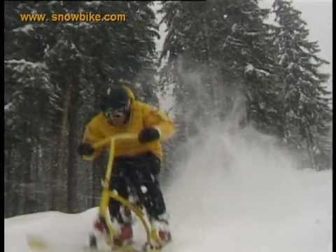 Snowbike Pure Fun Brenter The Original Youtube