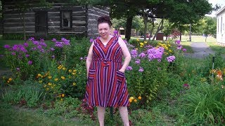 Plus Size OOTD ModCloth Sleeveless Fit & Flare Dress