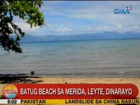 UB: Batug Beach sa Merida, Leyte, dinarayo