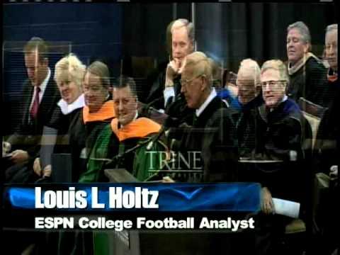 Lou Holtz Commencement Speech at Trine university