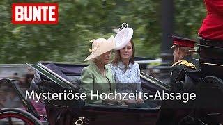 Herzogin Kate - Mysteriöse Hochzeits-Absage in letzter Sekunde  - BUNTE TV